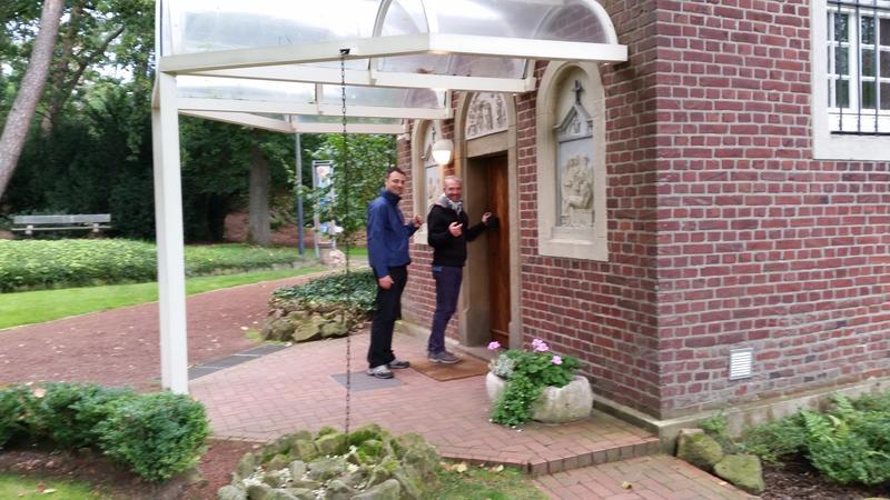 Waldkapelle Wanderer