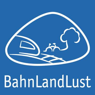 Plakette Radweg BahnLandLust