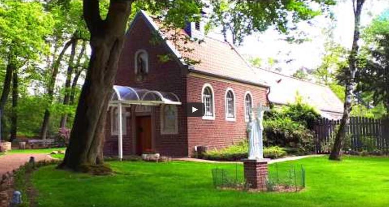 Die Waldkapelle / Eremitage auf YouTube