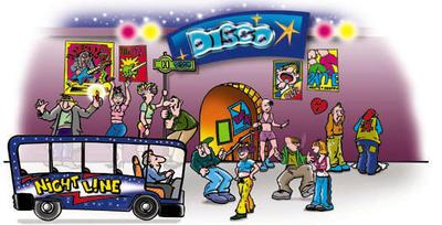 Nachtbus-Banner