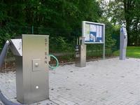 Entsorgungsstation / Infotafel / Kassenautomat